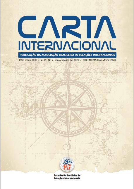 Visualizar v. 15 n. 2 (2020): Carta Internacional