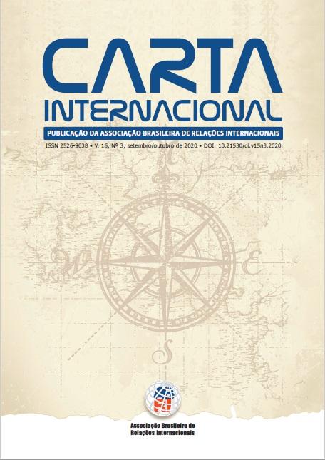 Visualizar v. 15 n. 3 (2020): Carta Internacional