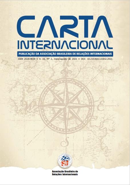 Visualizar v. 16 n. 2 (2021): Carta Internacional - Publicação Contínua